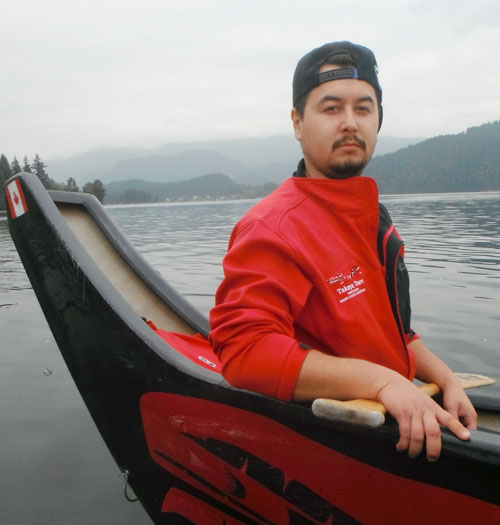 Guy George-Co-manager of Belcarra Paddling Centre/Cultural guide